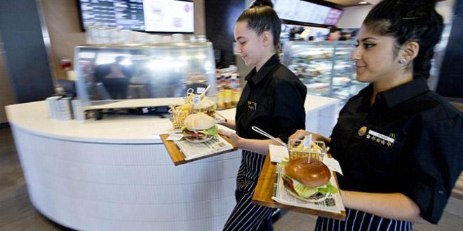 gourmet burger mcdo commande panneau