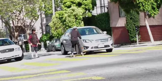 skate fail voiture