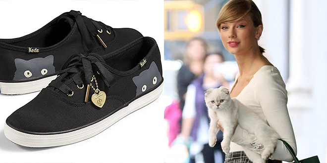 taylor swift keds sneaky cat chat