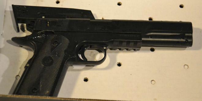 arme tamir rice pistolet billes faux