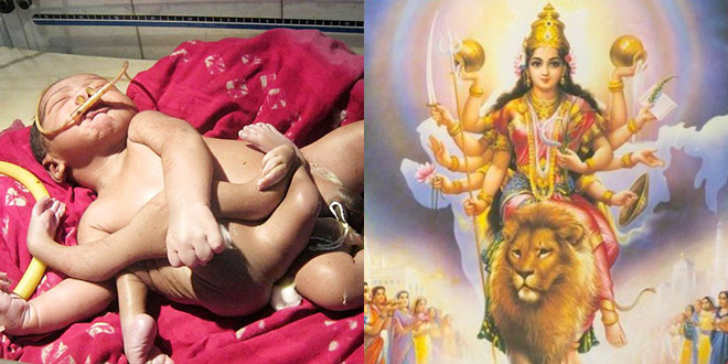 bebe 8 membres inde dieu shiva