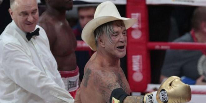 boxe mickey rourke