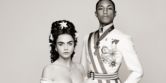 cara delevingne et pharell william chanel