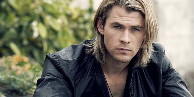 chris hemsworth cheveux longs