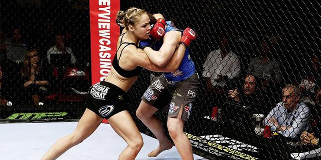 combat de mma feminin
