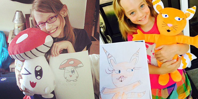dessins peluches budsies enfants