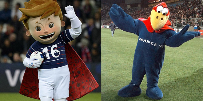 footix vs mascotte euro 2016