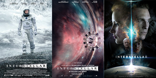 interstellar affiche film