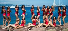 candidates miss france 2014 bikini rouges