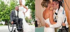 paralyse danse mariage il se leve