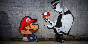 street art mario