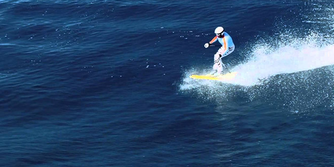 surf ski willy bogner vague