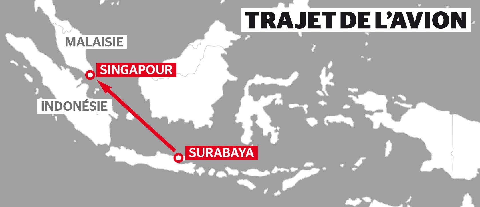 trajet indonesie singapour