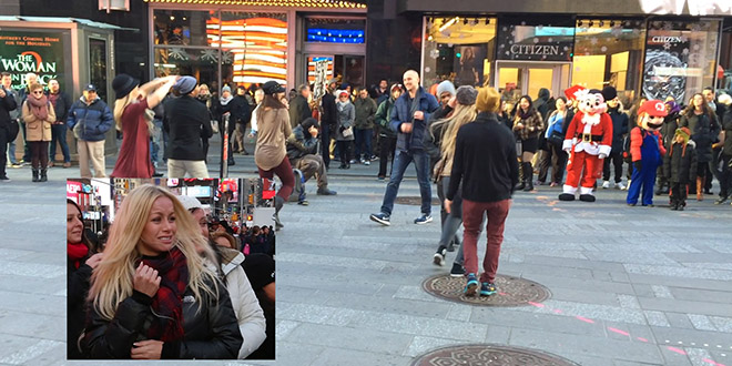 Charissa demande en mariage new york sean