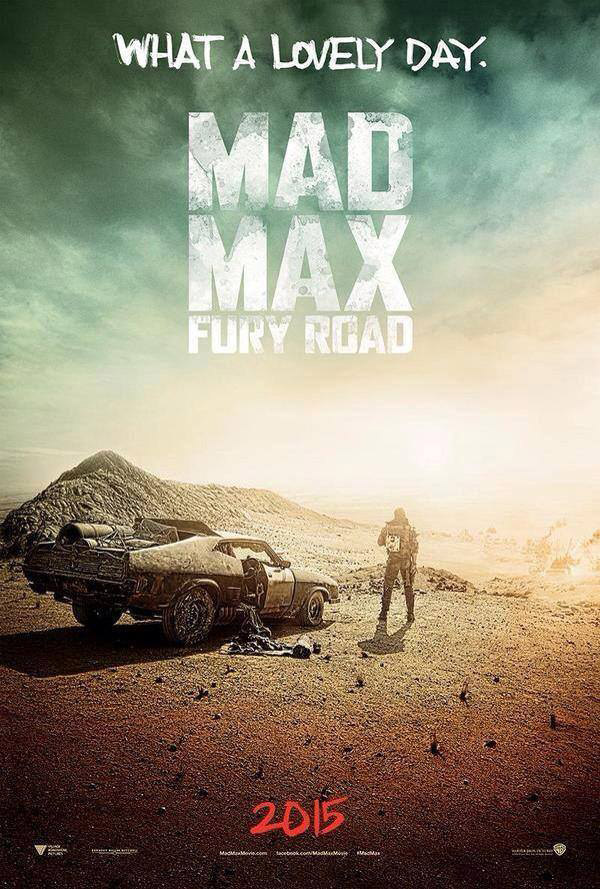 Mad Max Fury Road Movie affiche