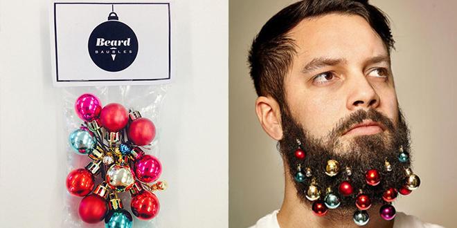 boules de noel pour barbe