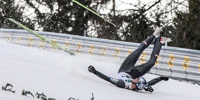 chute fail saut ski finlande