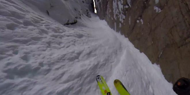 descente ski