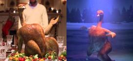 Noël : La Dinde Mona Turkey fait le show dans les pubs CanalSat