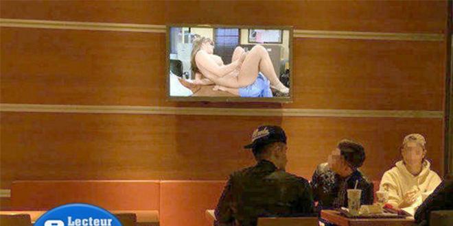 film porno au mcdo