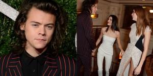 harry styles British Fashion Awards 2014