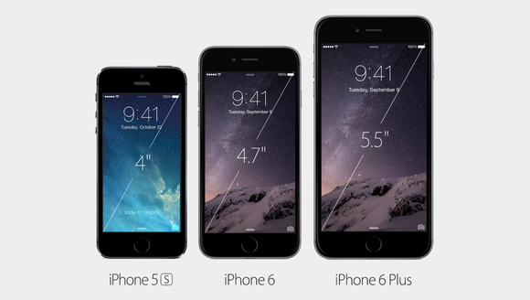 iphone 6 comparison taille