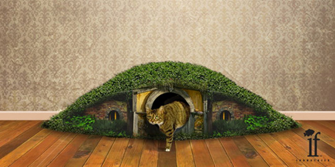 litiere chat hobbit