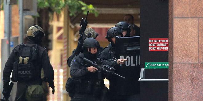 prise otage australie