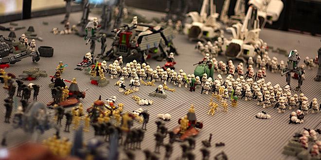 scene star wars en lego