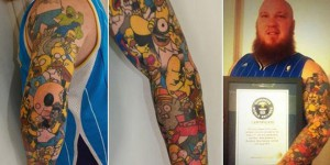 simpson tatouage