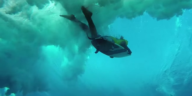 surf eau vague gopro