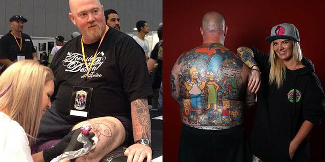tatouage simpson australie michael