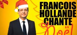 Parodie : François Hollande chante une musique pour Noël