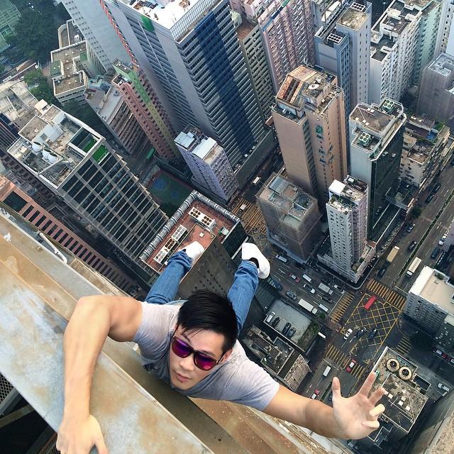 selfie hauteur