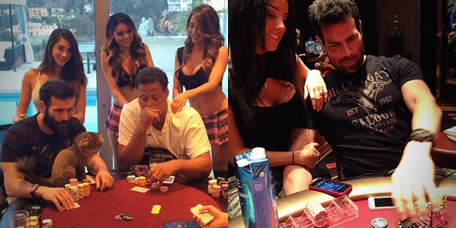 Dan Bilzerian photo instagram poker