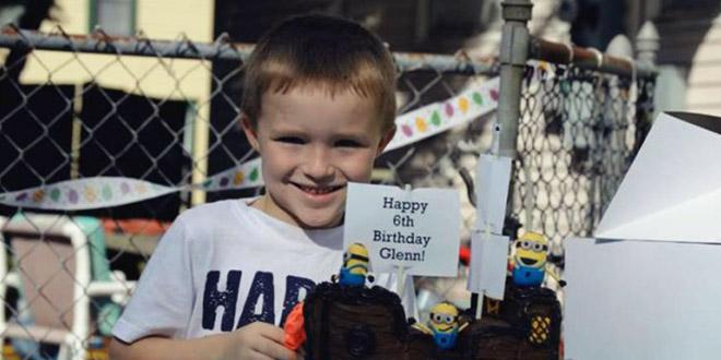 Glenn Buratti enfant anniversaire