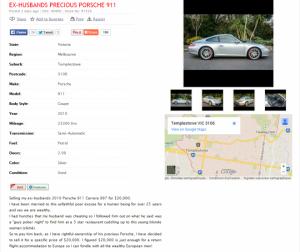 Porsche annonce