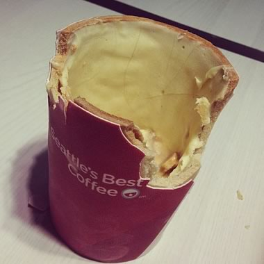 Scoff-ee cup instagram kfc
