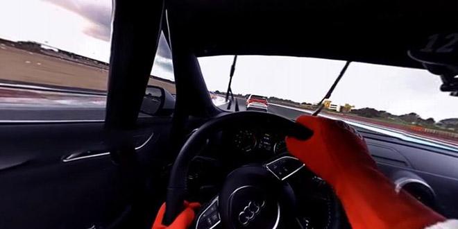 au volant course audi experience