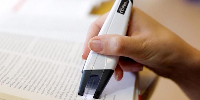 c pen stylo scanner surligneur