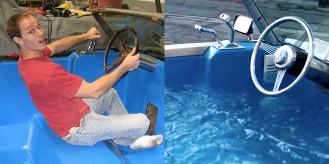 cadillac piscine