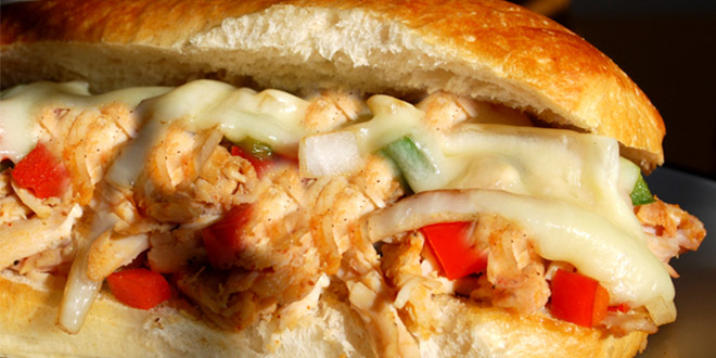 chicken phily cheese steak
