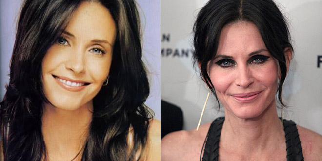 courteney cox avant apres