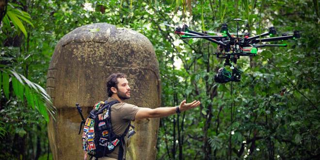 dronie selfie alex chacon