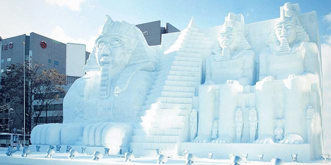 festival neige japon