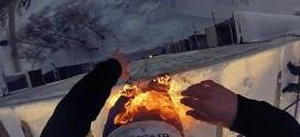 feu immeuble saut cascade russie