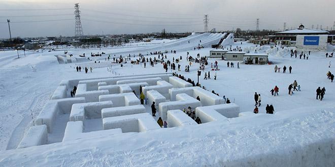 glace festival japon