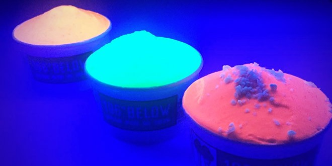 glace fluorescentes lumineuses australie