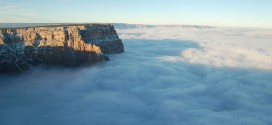 grand canyon nuages