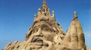 hommes des sables sculpture